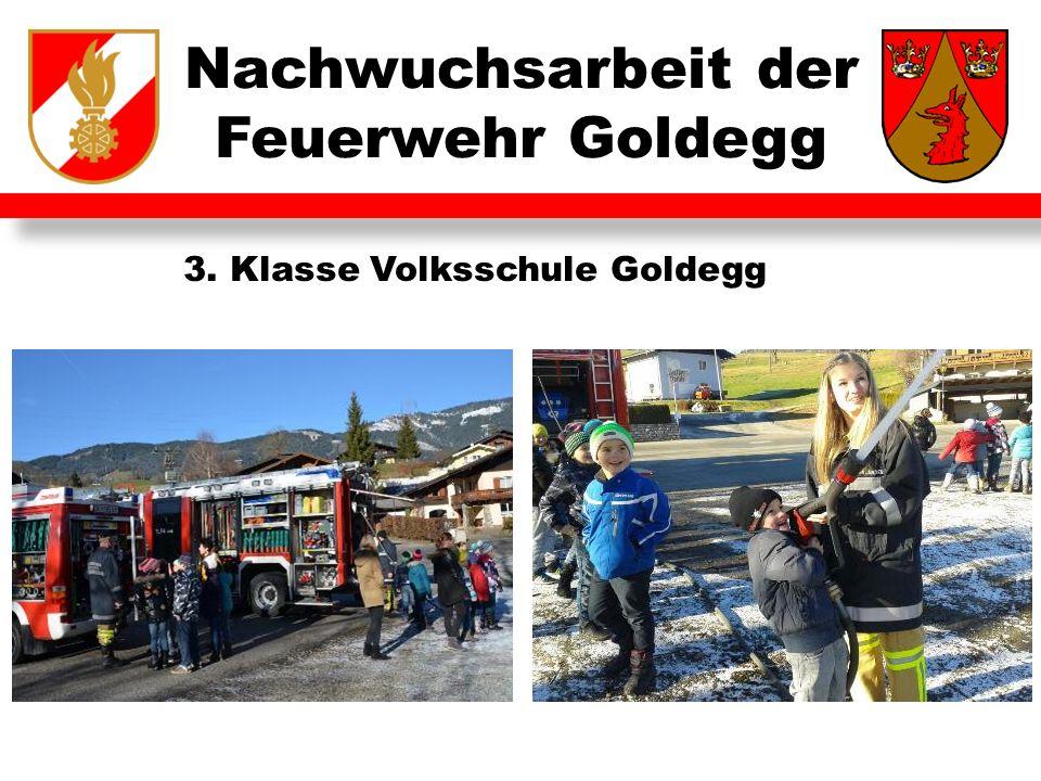Nachwuchsarbeit der Feuerwehr Goldegg