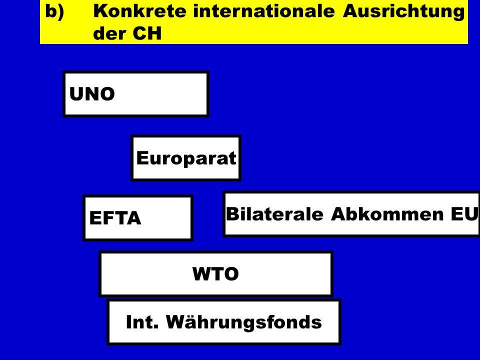 Bilaterale Abkommen EU