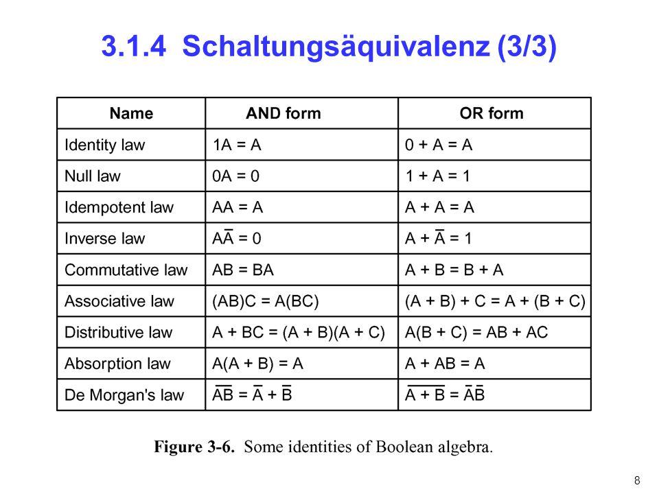 3.1.4 Schaltungsäquivalenz (3/3)