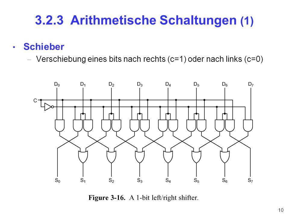 3.2.3 Arithmetische Schaltungen (1)