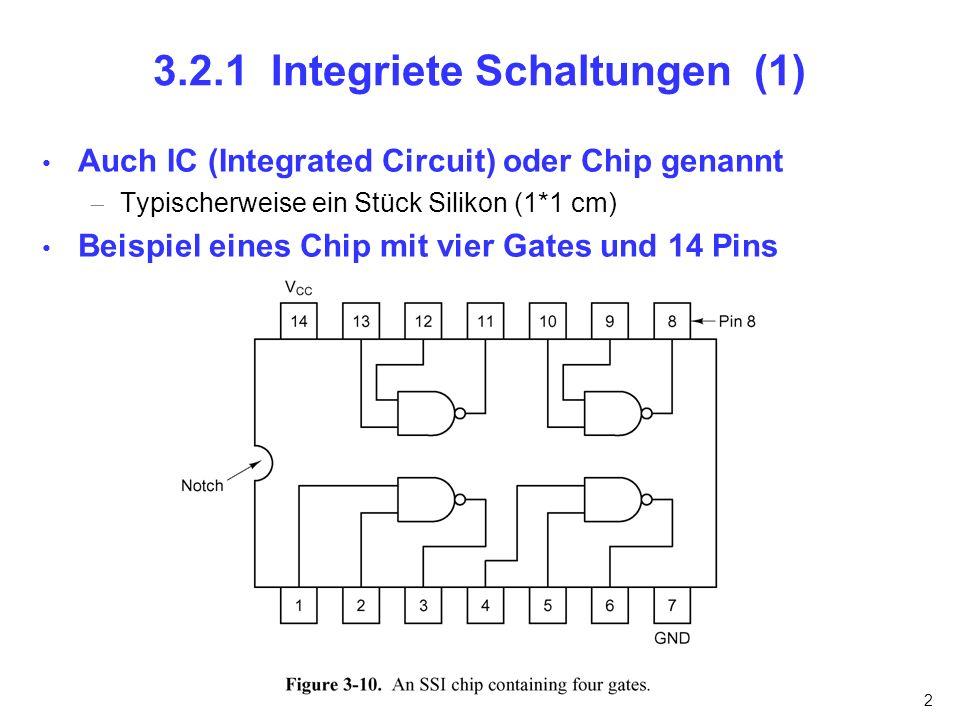 3.2.1 Integriete Schaltungen (1)