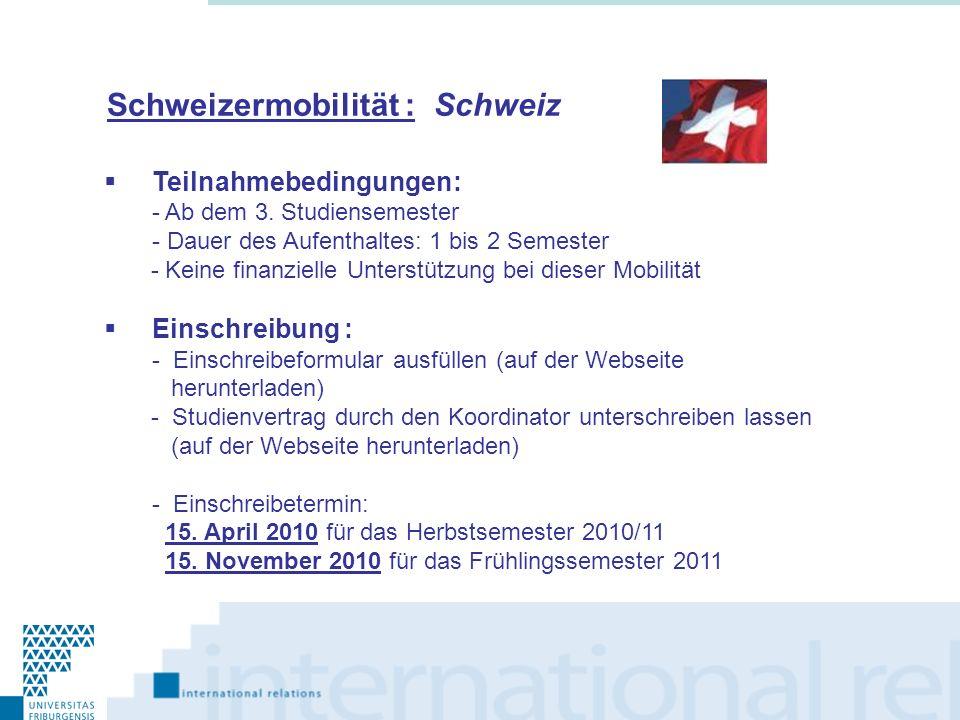 Schweizermobilität : Schweiz
