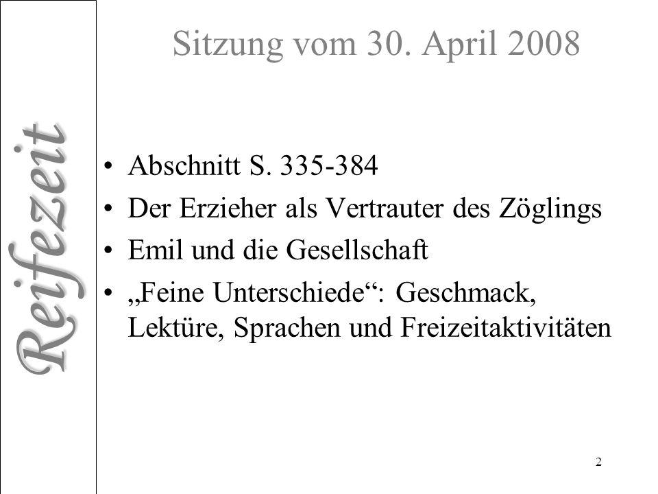Sitzung vom 30. April 2008 Abschnitt S. 335-384