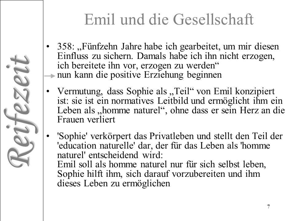 Emil und die Gesellschaft