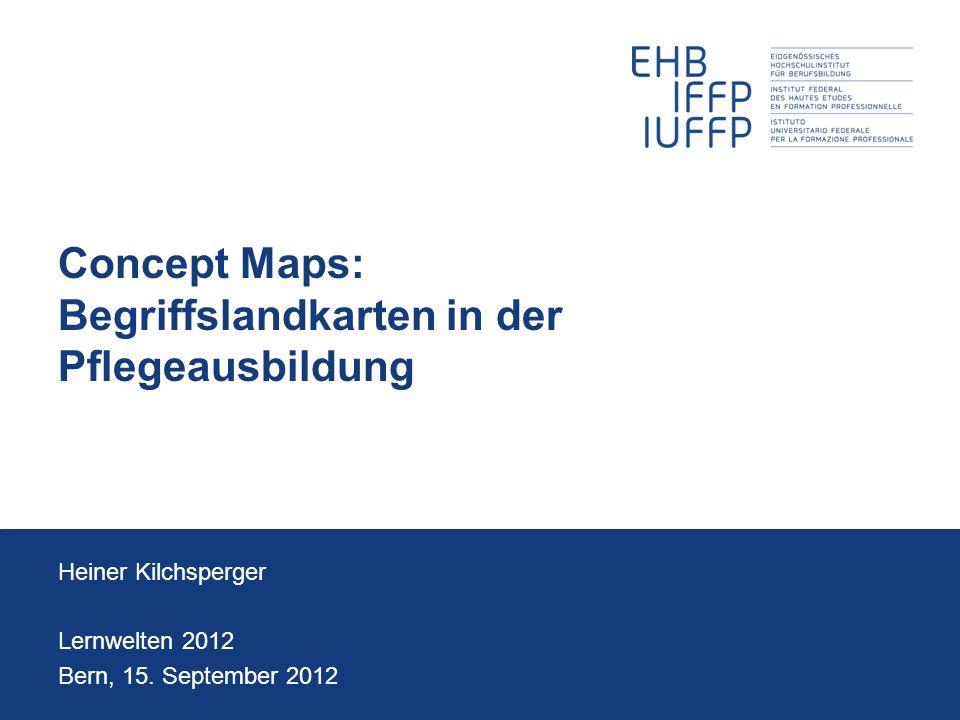 Concept Maps: Begriffslandkarten in der Pflegeausbildung