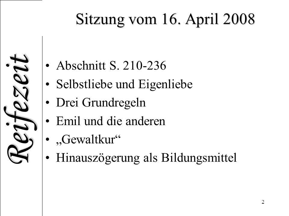 Sitzung vom 16. April 2008 Abschnitt S. 210-236