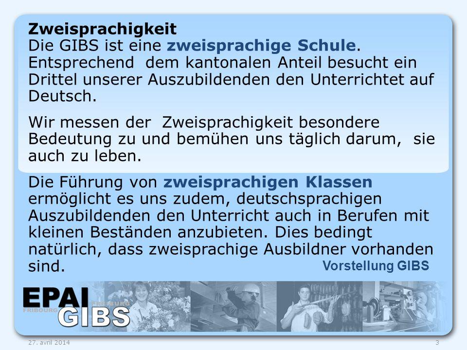 Zweisprachigkeit Die GIBS ist eine zweisprachige Schule
