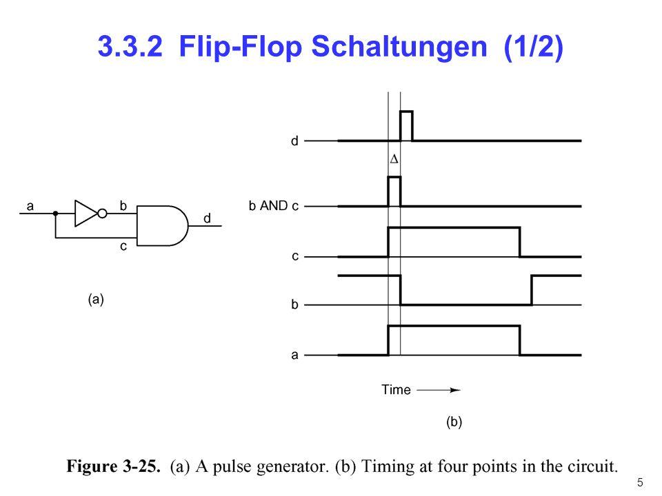 3.3.2 Flip-Flop Schaltungen (1/2)