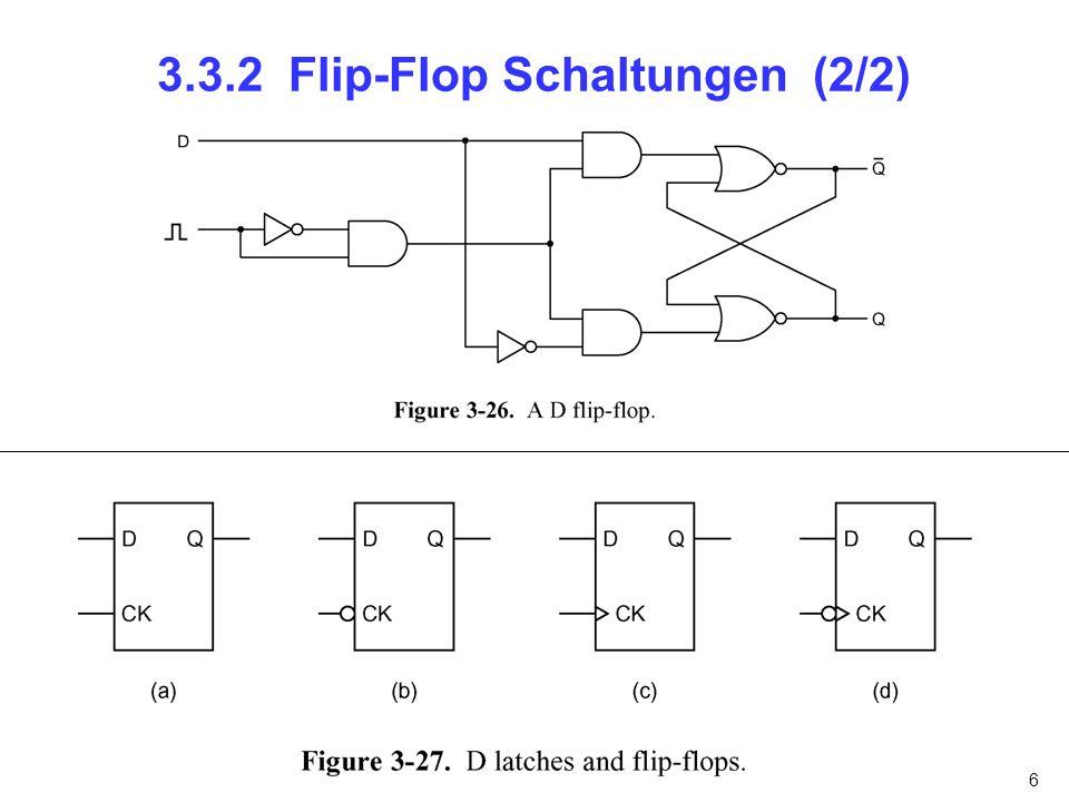 3.3.2 Flip-Flop Schaltungen (2/2)