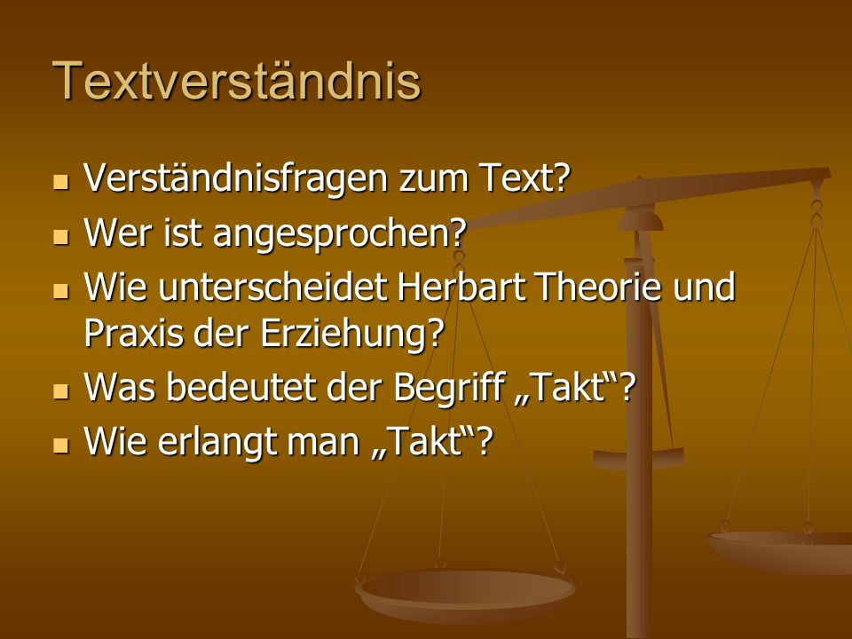Textverständnis Verständnisfragen zum Text Wer ist angesprochen