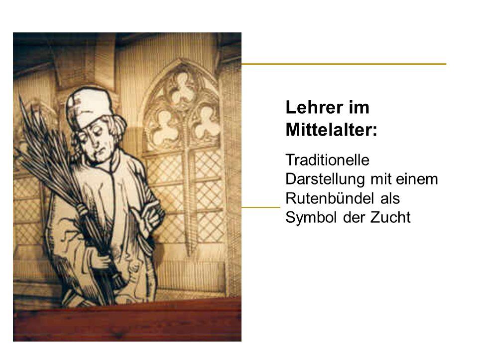 Lehrer im Mittelalter: