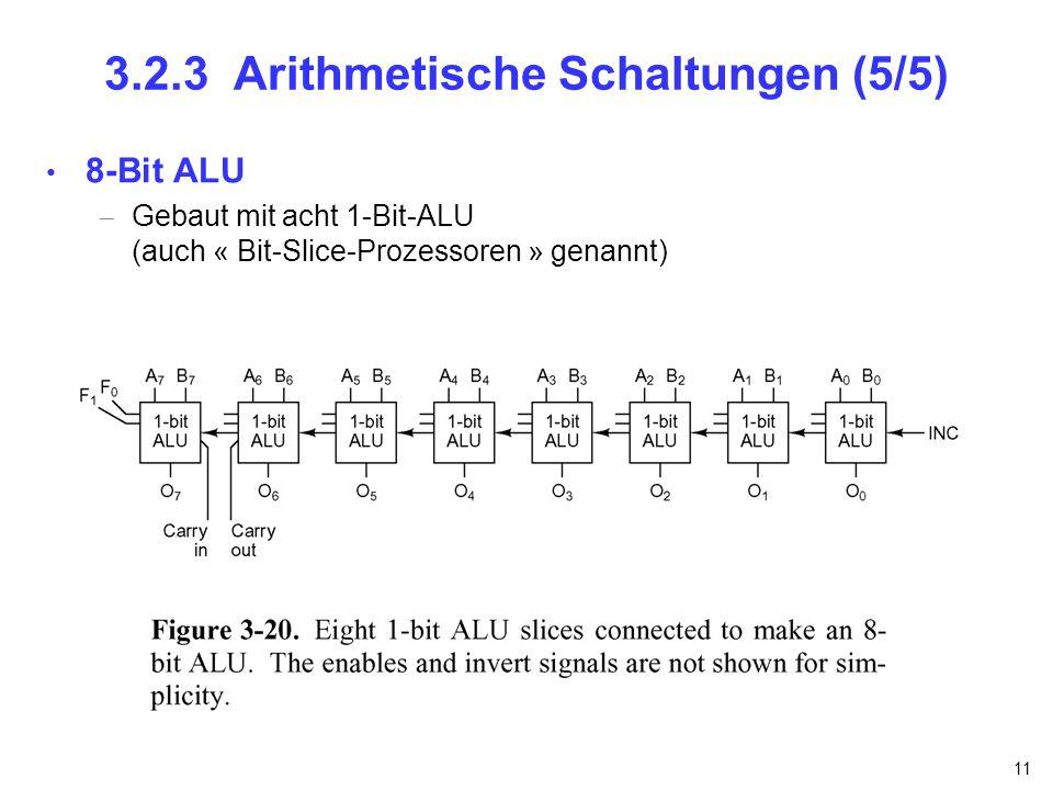 3.2.3 Arithmetische Schaltungen (5/5)