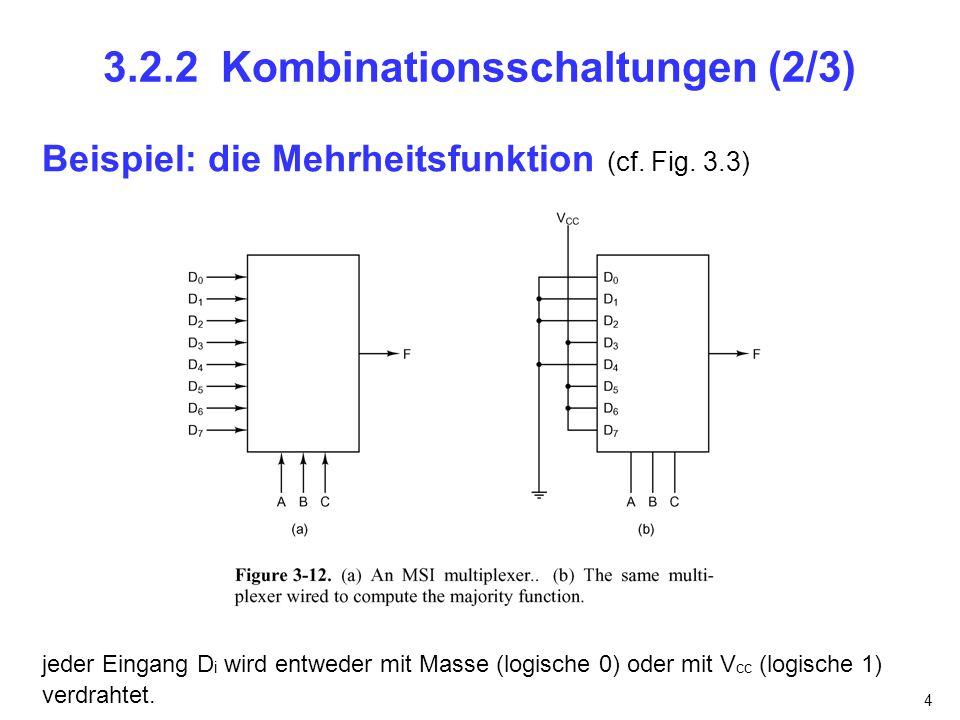 3.2.2 Kombinationsschaltungen (2/3)