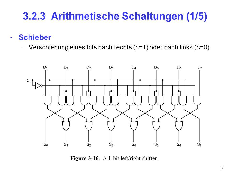 3.2.3 Arithmetische Schaltungen (1/5)