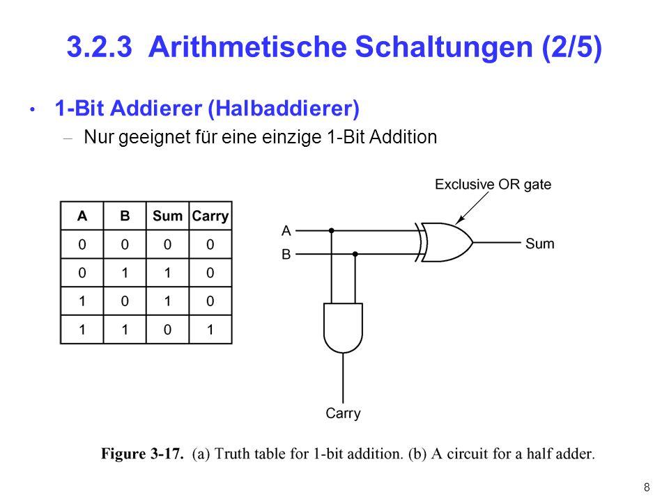 3.2.3 Arithmetische Schaltungen (2/5)