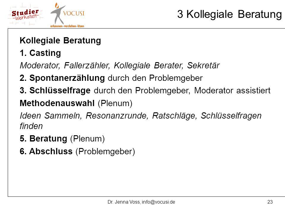 Dr. Jenna Voss, info@vocusi.de