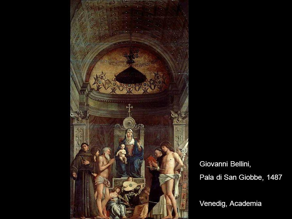 Giovanni Bellini, Pala di San Giobbe, 1487 Venedig, Academia