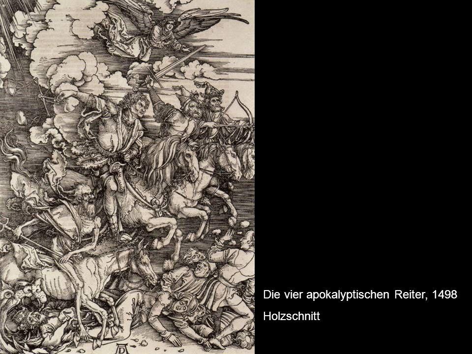 Die vier apokalyptischen Reiter, 1498