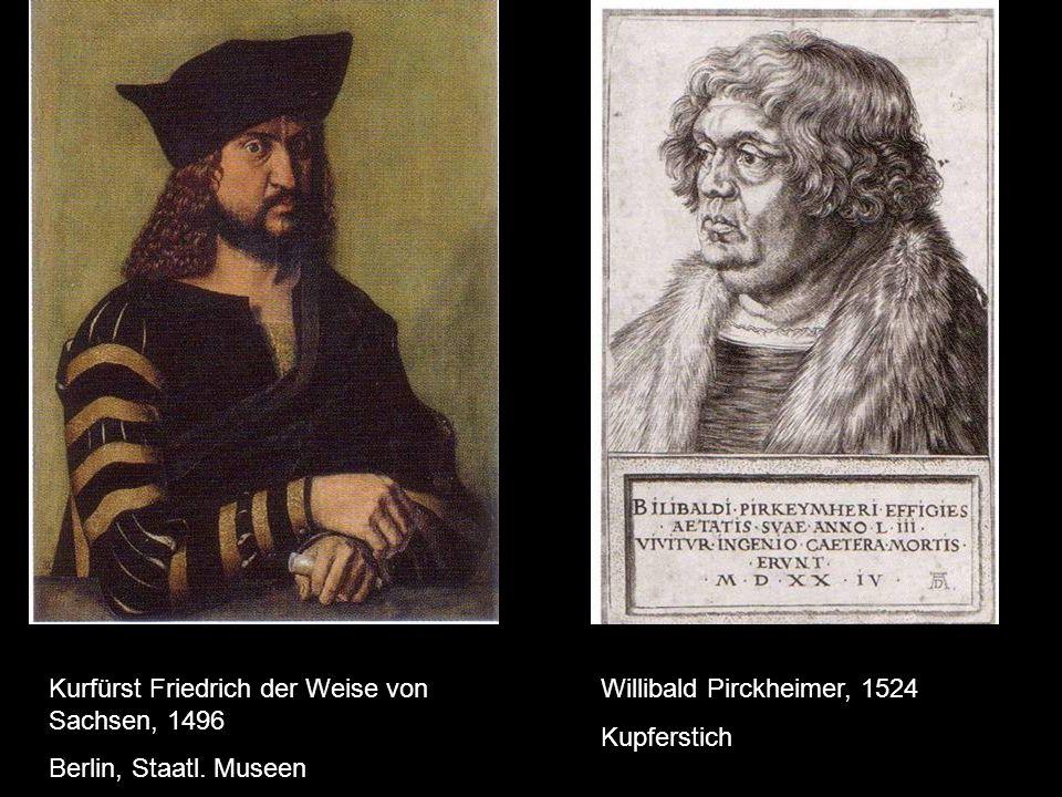 Kurfürst Friedrich der Weise von Sachsen, 1496