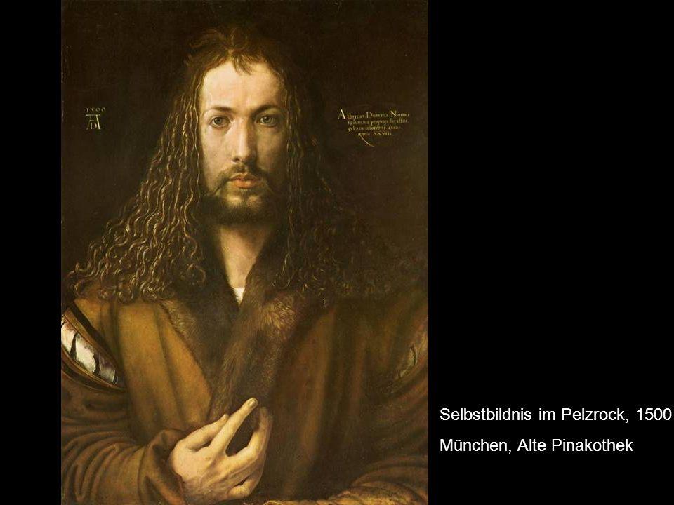 Selbstbildnis im Pelzrock, 1500