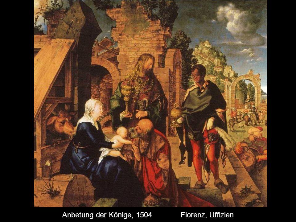 Anbetung der Könige, 1504 Florenz, Uffizien