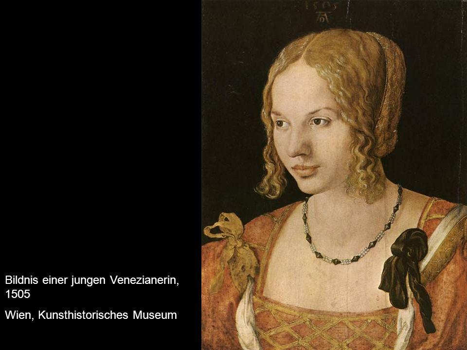 Bildnis einer jungen Venezianerin, 1505