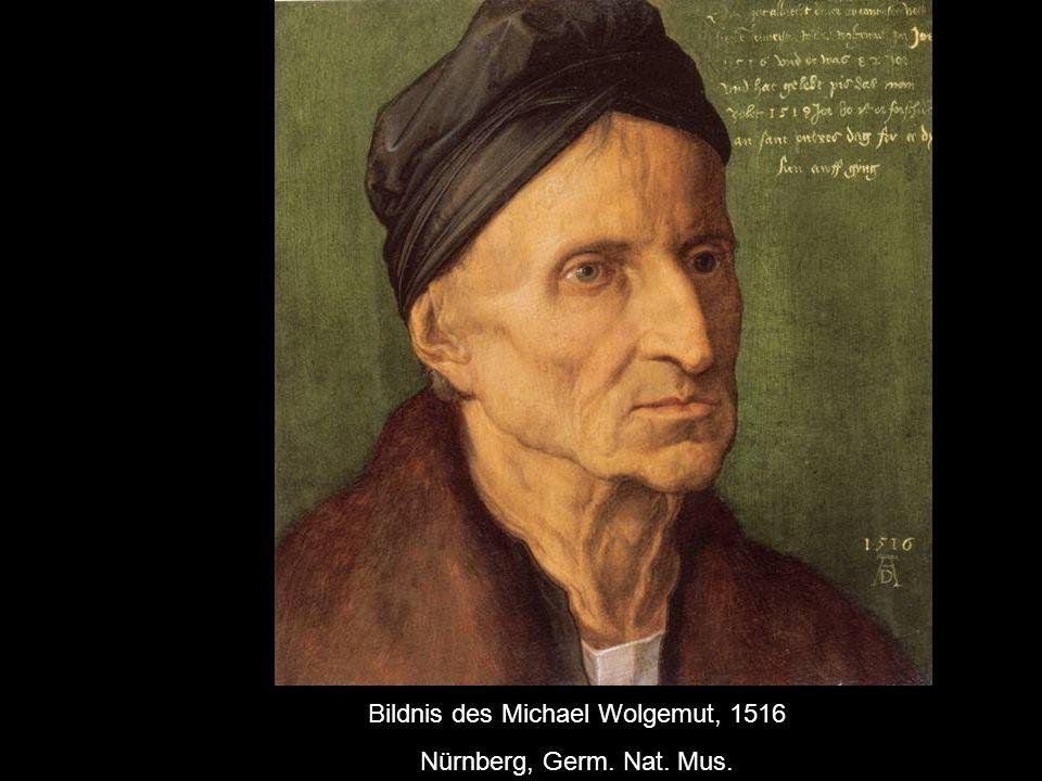 Bildnis des Michael Wolgemut, 1516
