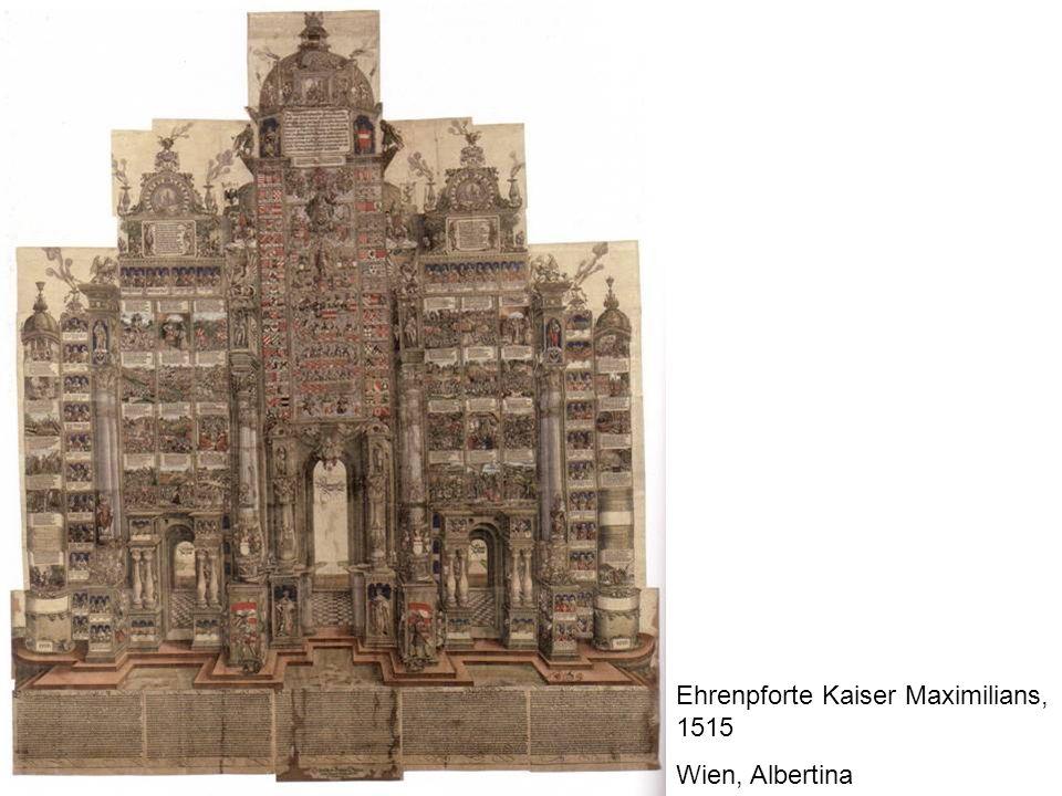 Ehrenpforte Kaiser Maximilians, 1515