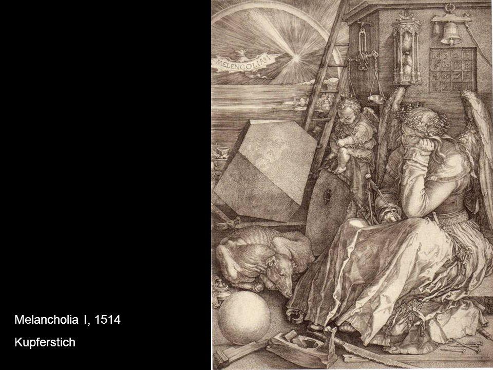 Melancholia I, 1514 Kupferstich