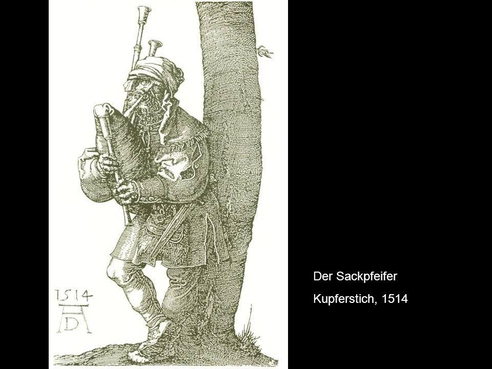 Der Sackpfeifer Kupferstich, 1514