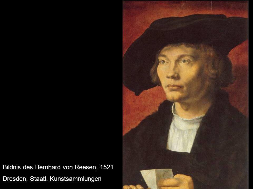 Bildnis des Bernhard von Reesen, 1521