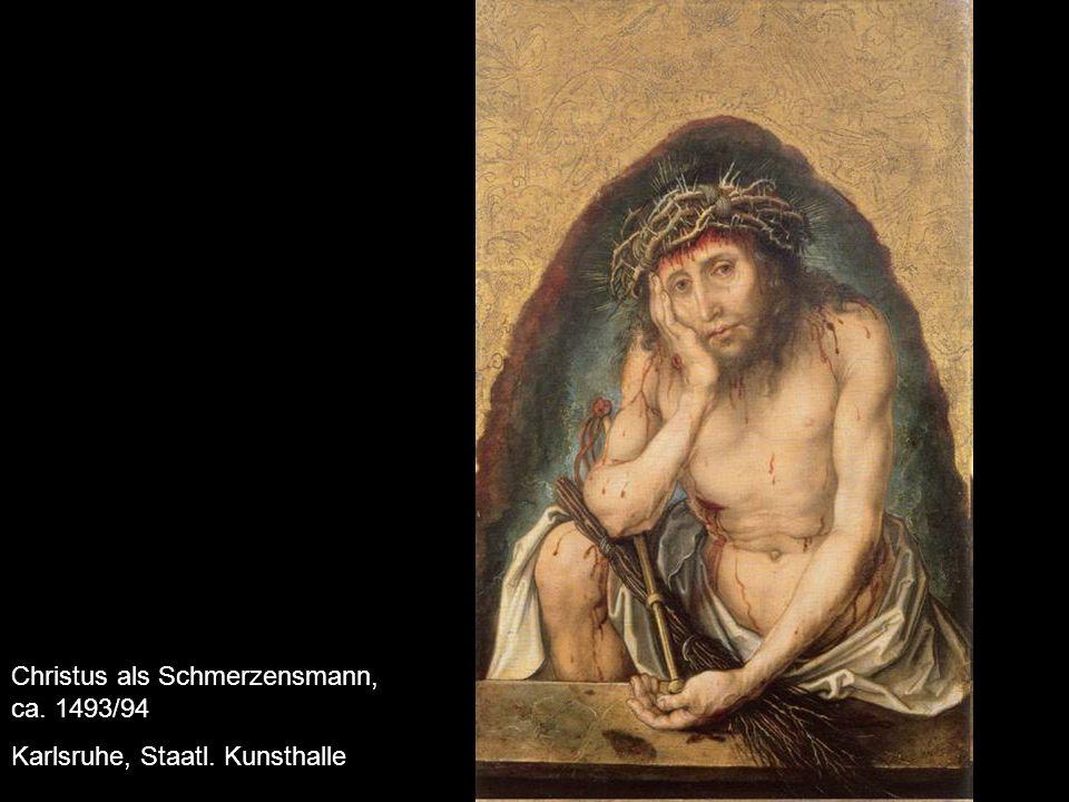 Christus als Schmerzensmann, ca. 1493/94
