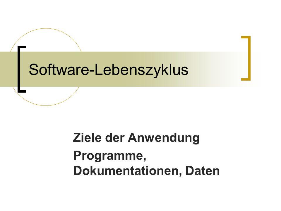 Software-Lebenszyklus