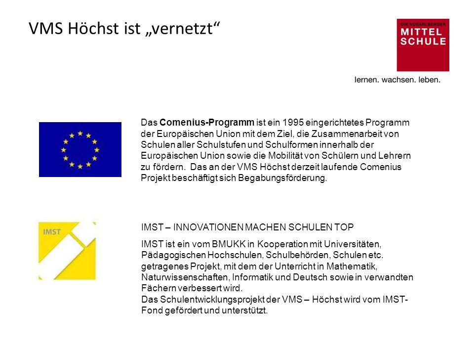 """VMS Höchst ist """"vernetzt"""