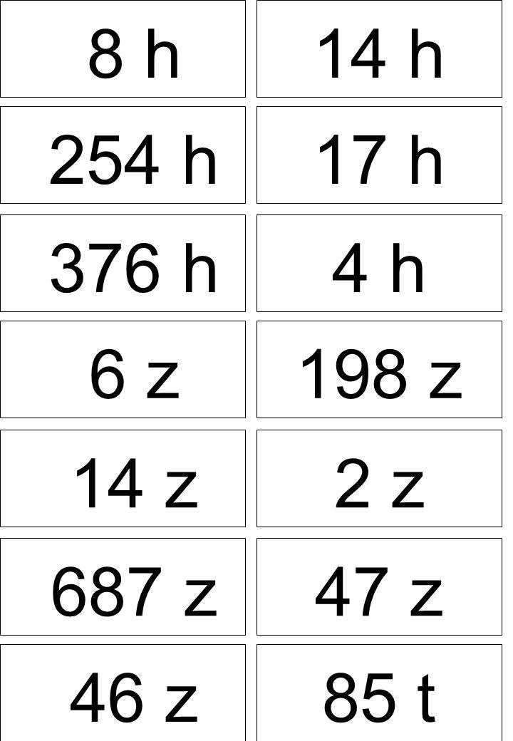 8 h 14 h 254 h 17 h 376 h 4 h 6 z 198 z 14 z 2 z 687 z 47 z 46 z 85 t