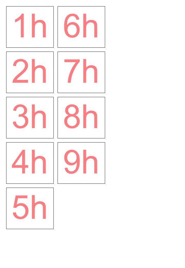 1h 6h 2h 7h 3h 8h 4h 9h 5h