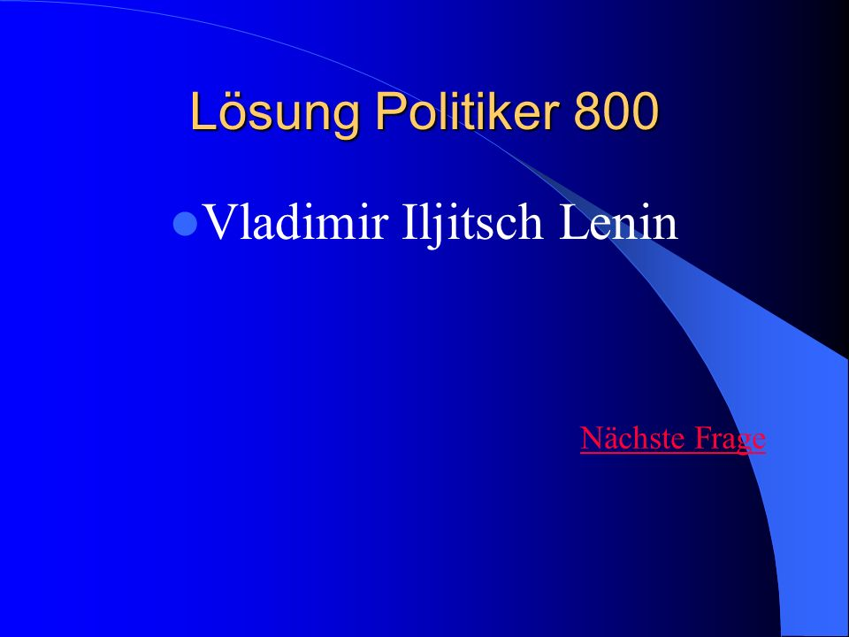 Vladimir Iljitsch Lenin