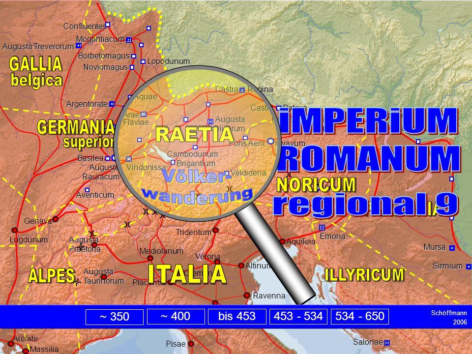 Intro iMPERiUM ROMANUM regional 9 Völker- wanderung belgica superior