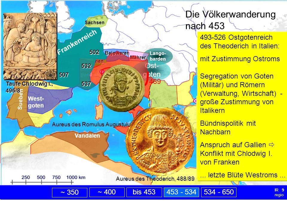 nach 453 Die Völkerwanderung nach 453