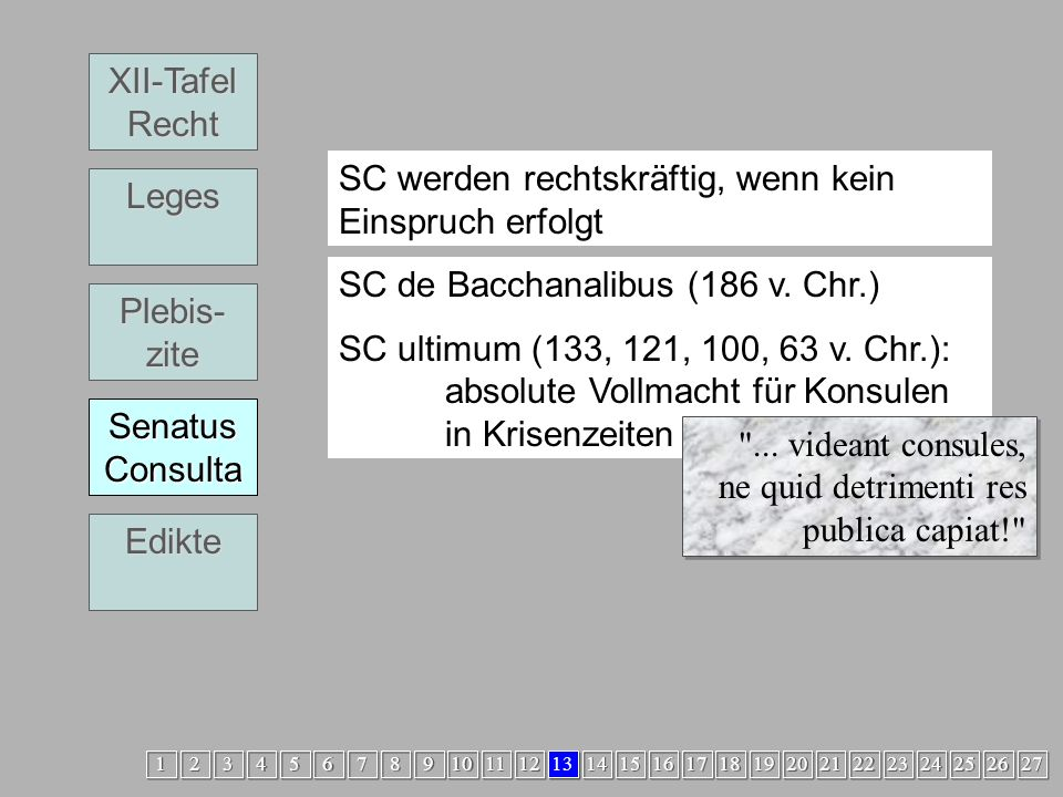 Legislative4 SC XII-Tafel Recht