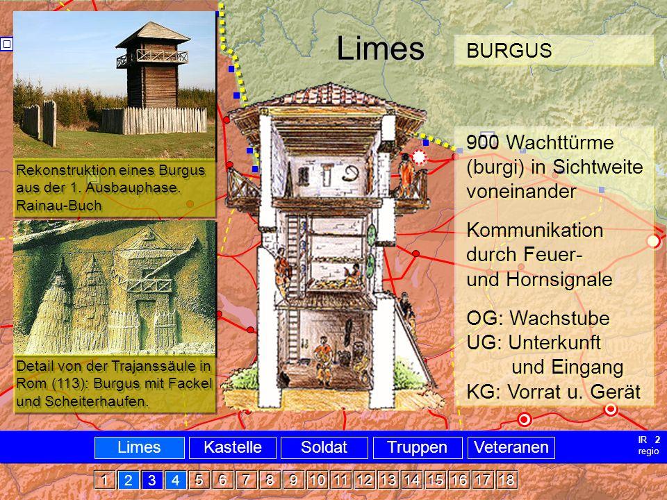 Militär Limes Burgus Limes BURGUS