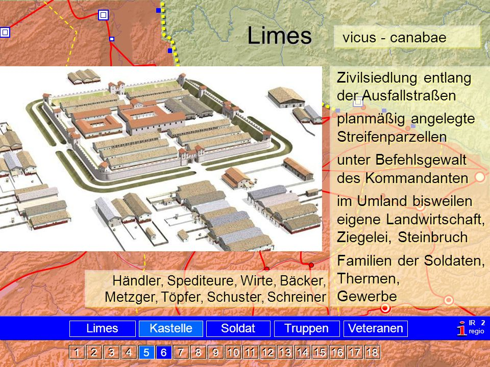 Militär Limes Castellvicus