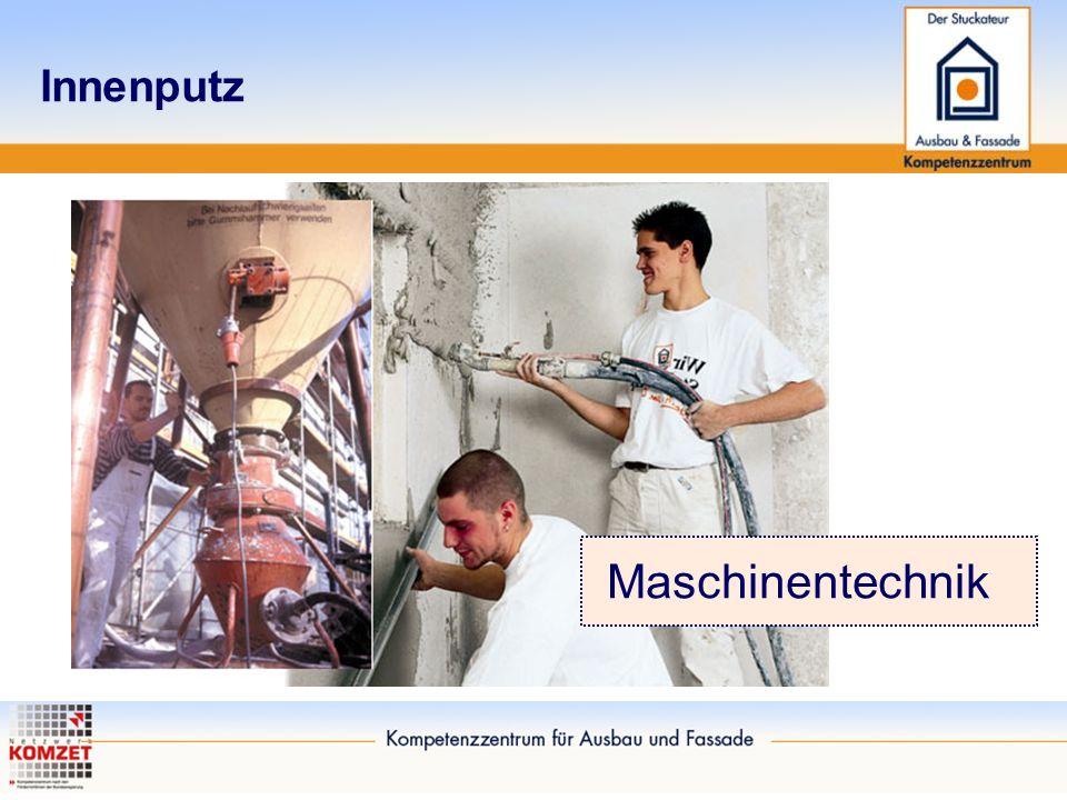 Innenputz Maschinentechnik