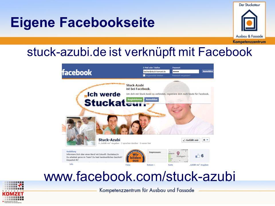 stuck-azubi.de ist verknüpft mit Facebook