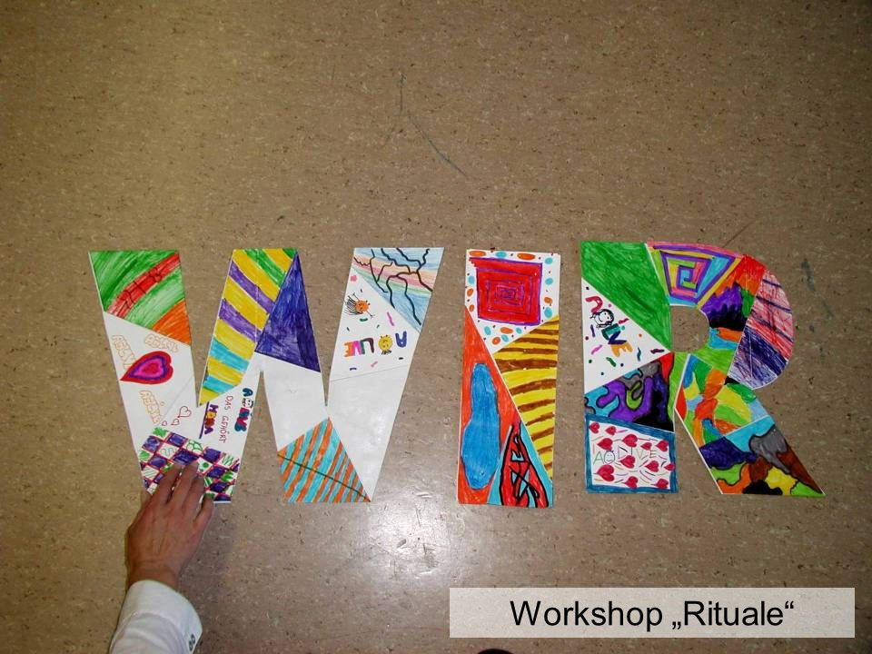 "Workshop ""Rituale"