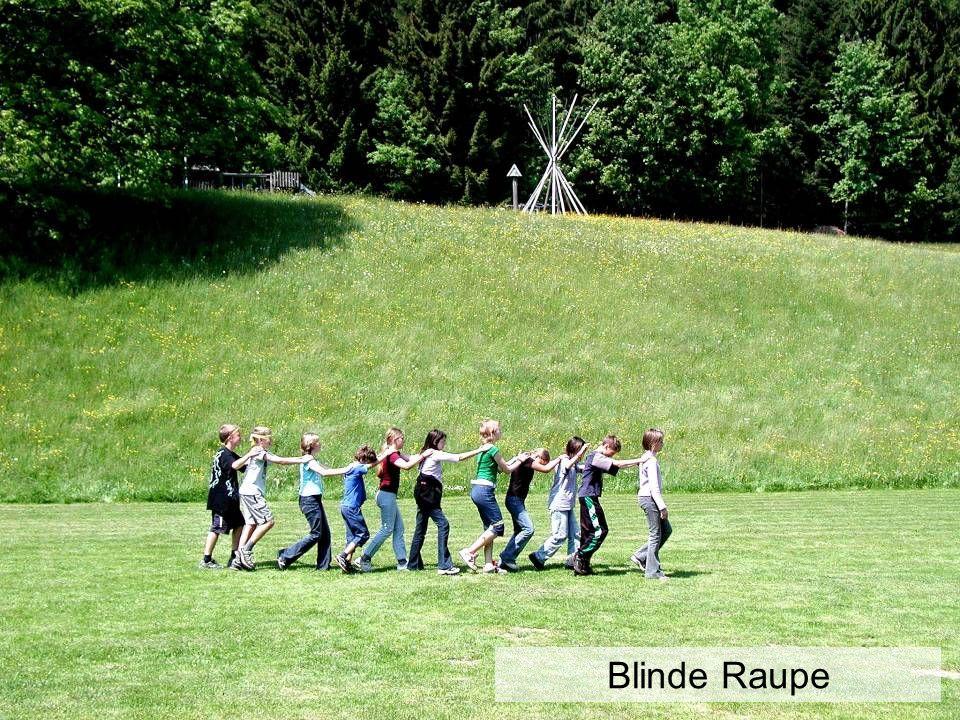 Blinde Raupe
