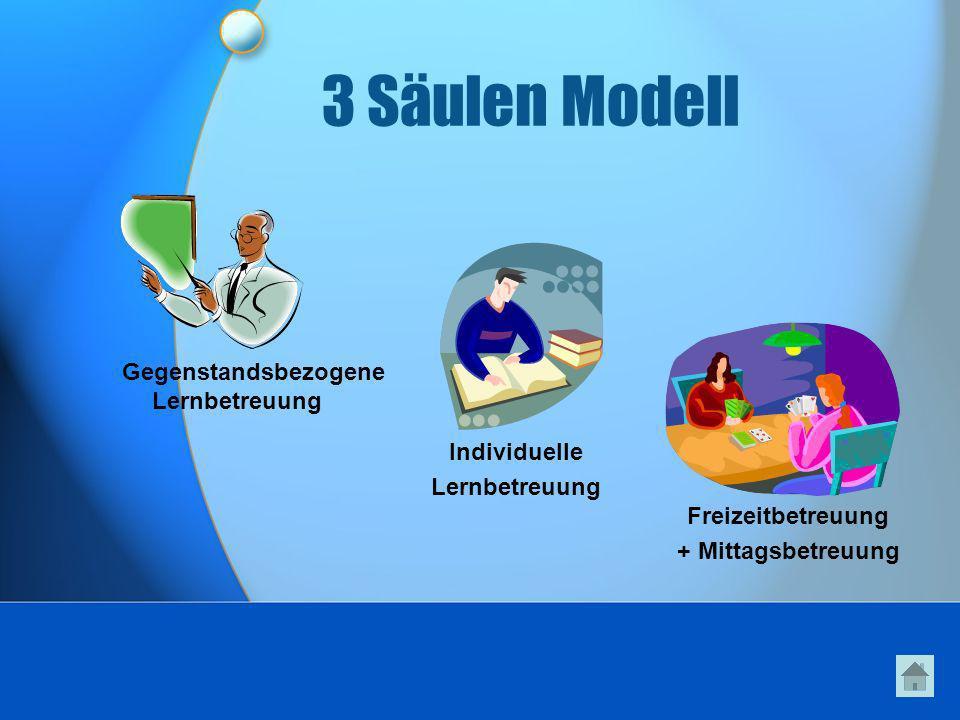 3 Säulen Modell Gegenstandsbezogene Lernbetreuung Individuelle
