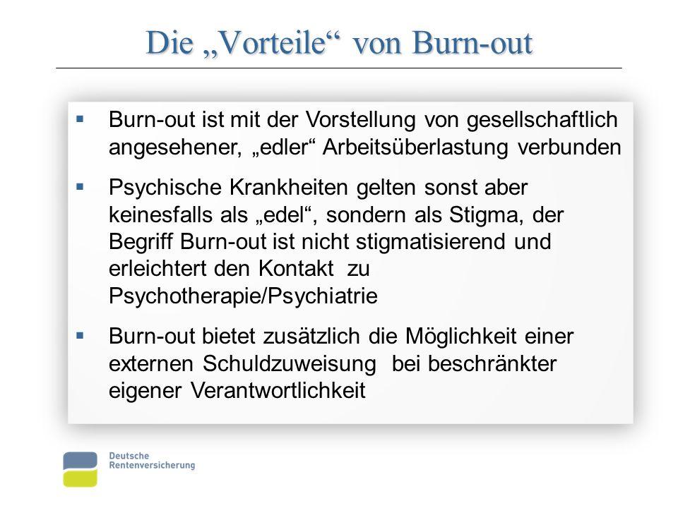 """Die """"Vorteile von Burn-out"""