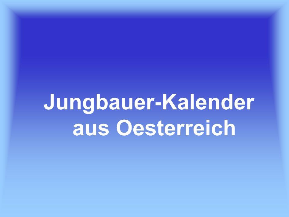 Jungbauer-Kalender aus Oesterreich
