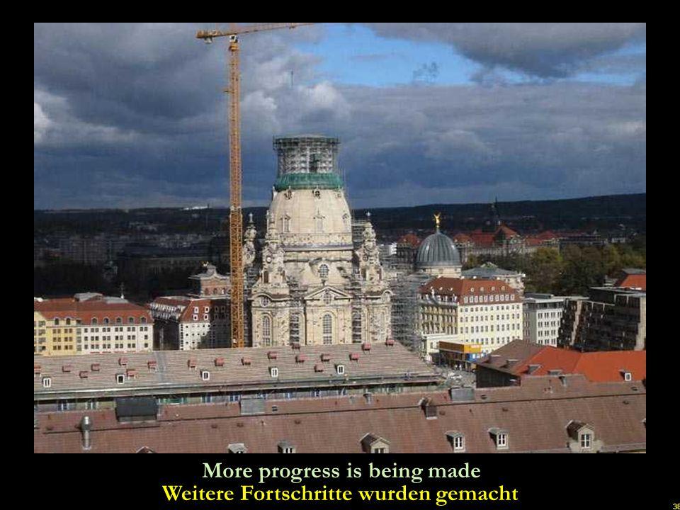 Weitere Fortschritte wurden gemacht